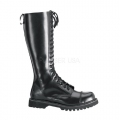ROCKY-20 Black Leather Size 8